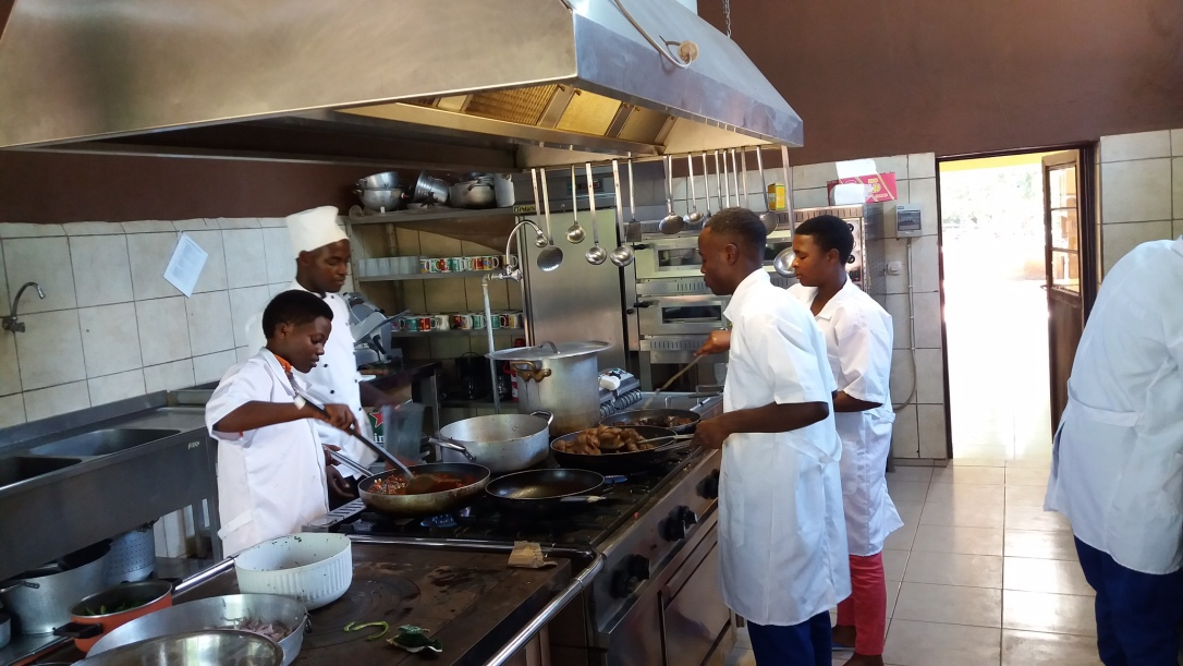 Culinary Course at St. Kizito Technical School in Rwanda