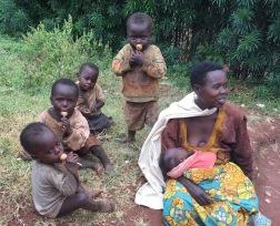 Family living near school in Musha, Rwanda