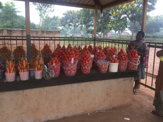 Local Village Market in Rwanda
