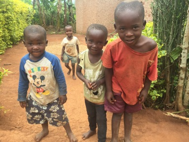 Children living near school (future Students of ETSK) in Musha, Rwanda