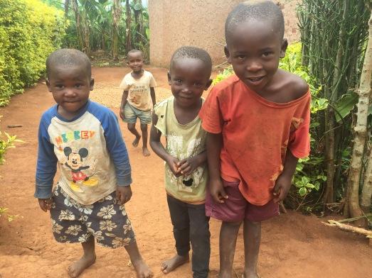 Children living near school (future Students of ETSK) in Musha, Rwanda