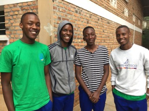 Students of the St. Kizito Technical High School in Musha, Rwanda
